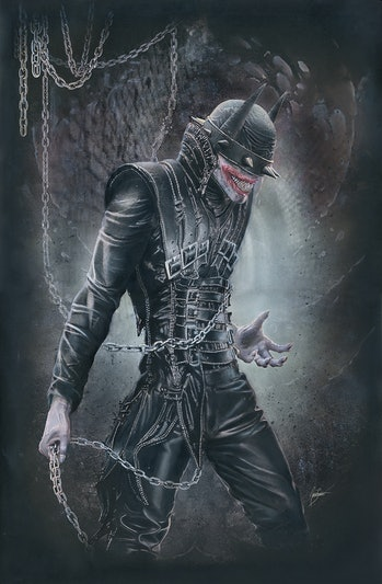 Batman Who Laughs Natali Sanders