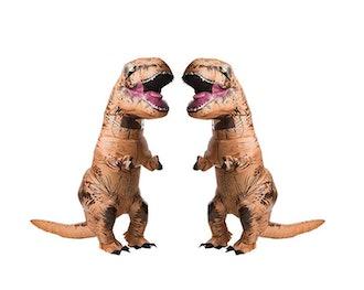 Jurasic World T-Rex Adult Inflatable Costume 2 Pack Bundle Set