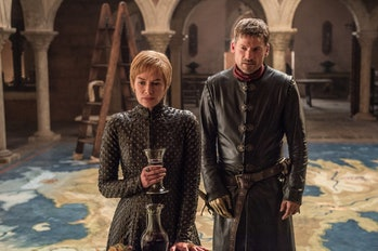 Lena Headey and Nikolaj Coster-Waldau in 'Game of Thrones' Season 7