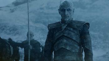 The Night King (Vladimir Furdik) fights beyond the Wall on 'Game of Thrones' Season 7
