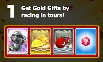 mario kart tour gold pass rewards