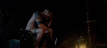Tom Hardy has sex magic in 'Taboo'