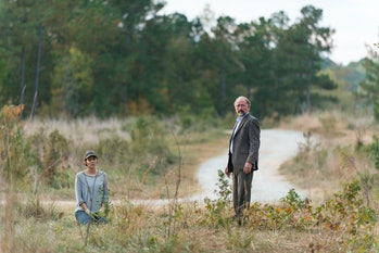 Lauren Cohan as Maggie Greene, Xander Berkeley as Gregory