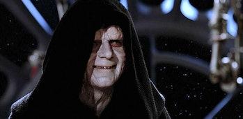 Ian Mcdiarmid as Emperor Palpatine in 'Return of the Jedi.'