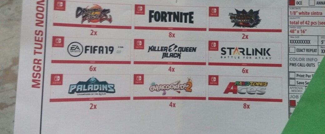 """Fortnite"" as listed on the leak."