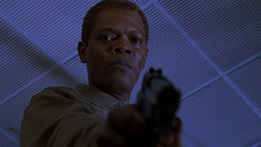 Samuel L. Jackson in 'The Negotiator' (1998)