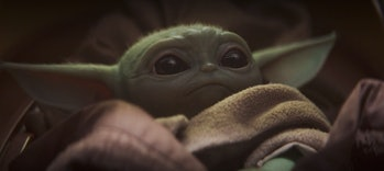 A 50-year-old-Yoda-ish baby in 'The Mandalorian'