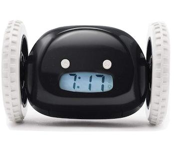 Clocky, the original runaway alarm clock