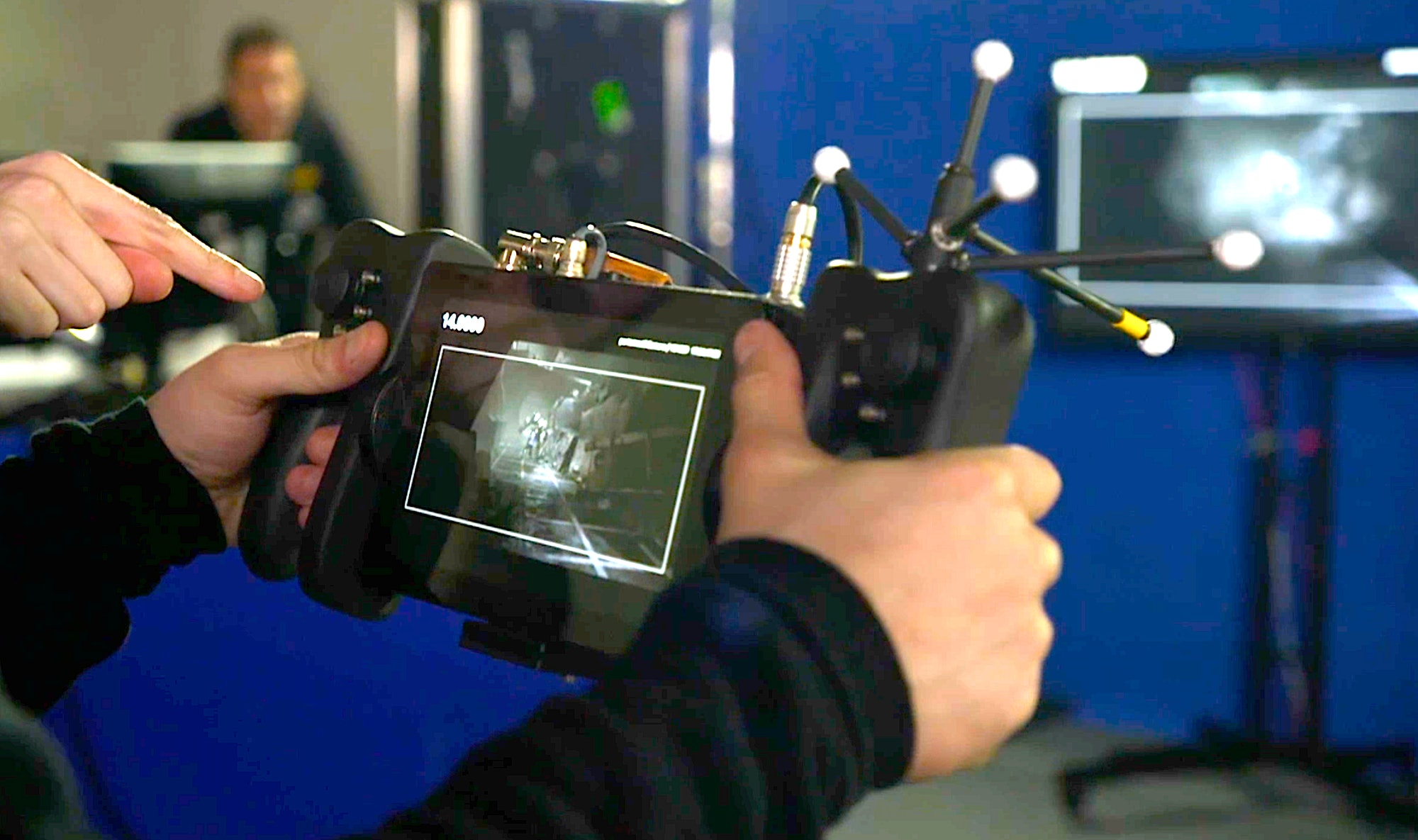 WETA Digital's Virtual Camera used for Virtual Production