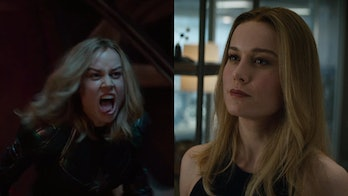 Carol Danvers Captain Marvel vs Avengers Endgame