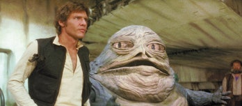 Jabba will probably show up in 'Solo', right?