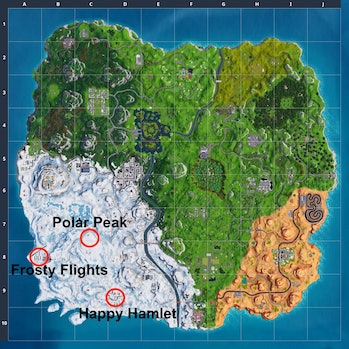 'Fortnite' Season 7 Map