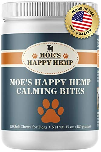 A pill container for hemp dog treats.