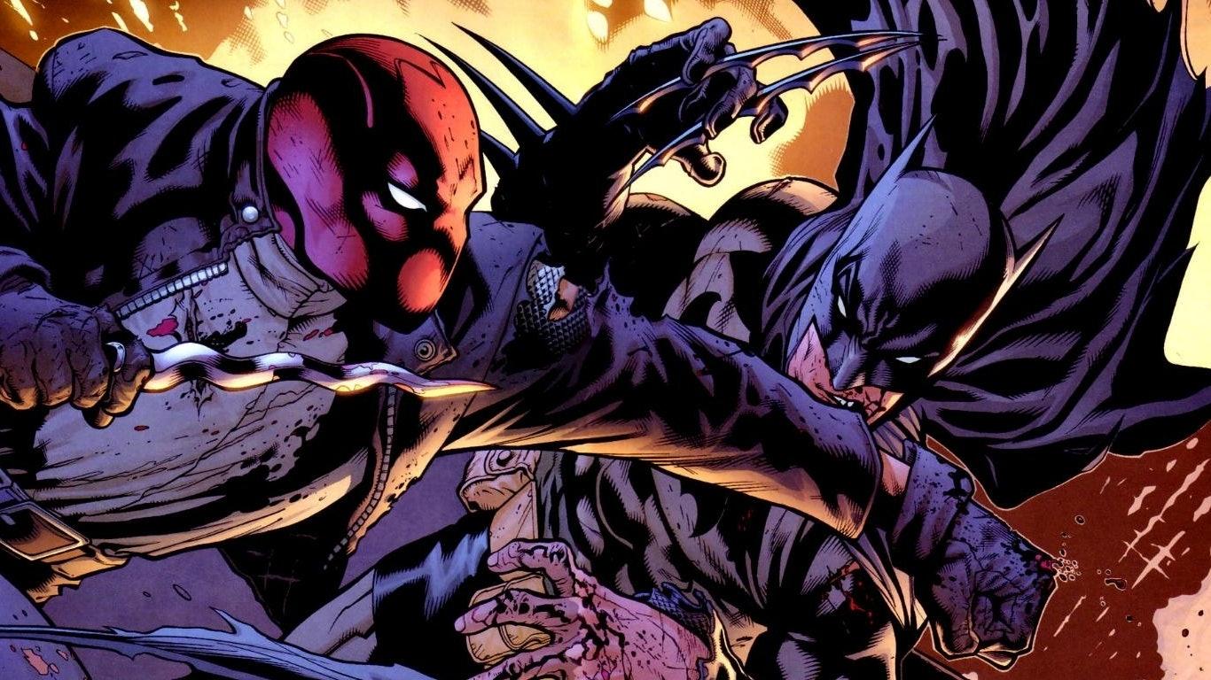 red hood dc movie batman robin