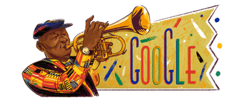 Google's commemorative doodle.