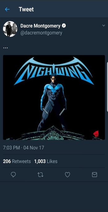 Dacre Montgomery Nightwing Movie