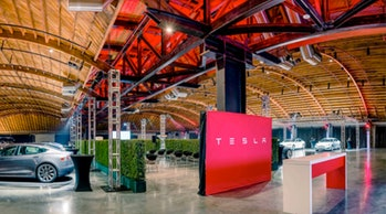 Tesla Delivery Hub