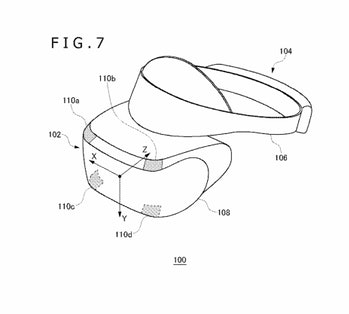 ps5 virtual reality headset patent vr