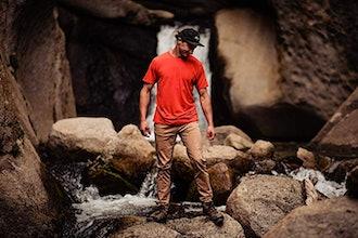 Ridge Merino Wool Men's Journey T-Shirt