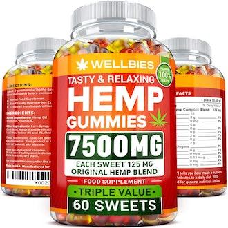 Wellbies Hemp Gummies
