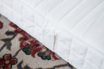 Perhaps the most recommendable quality of IKEA's Matrand mattress is the handles on its sides.