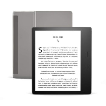 All-new Kindle Oasis - Now with adjustable warm light - Includes special offers, e-reader, e-ink dis...