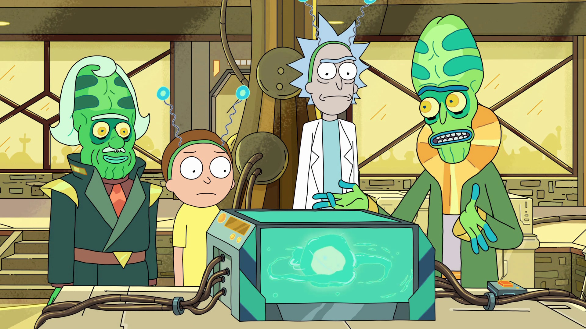 the ricks must be crazy miniverse