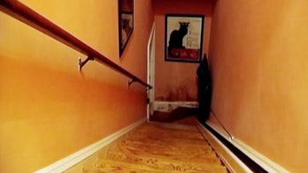 The staircase at the heart of 'The Staircase.'