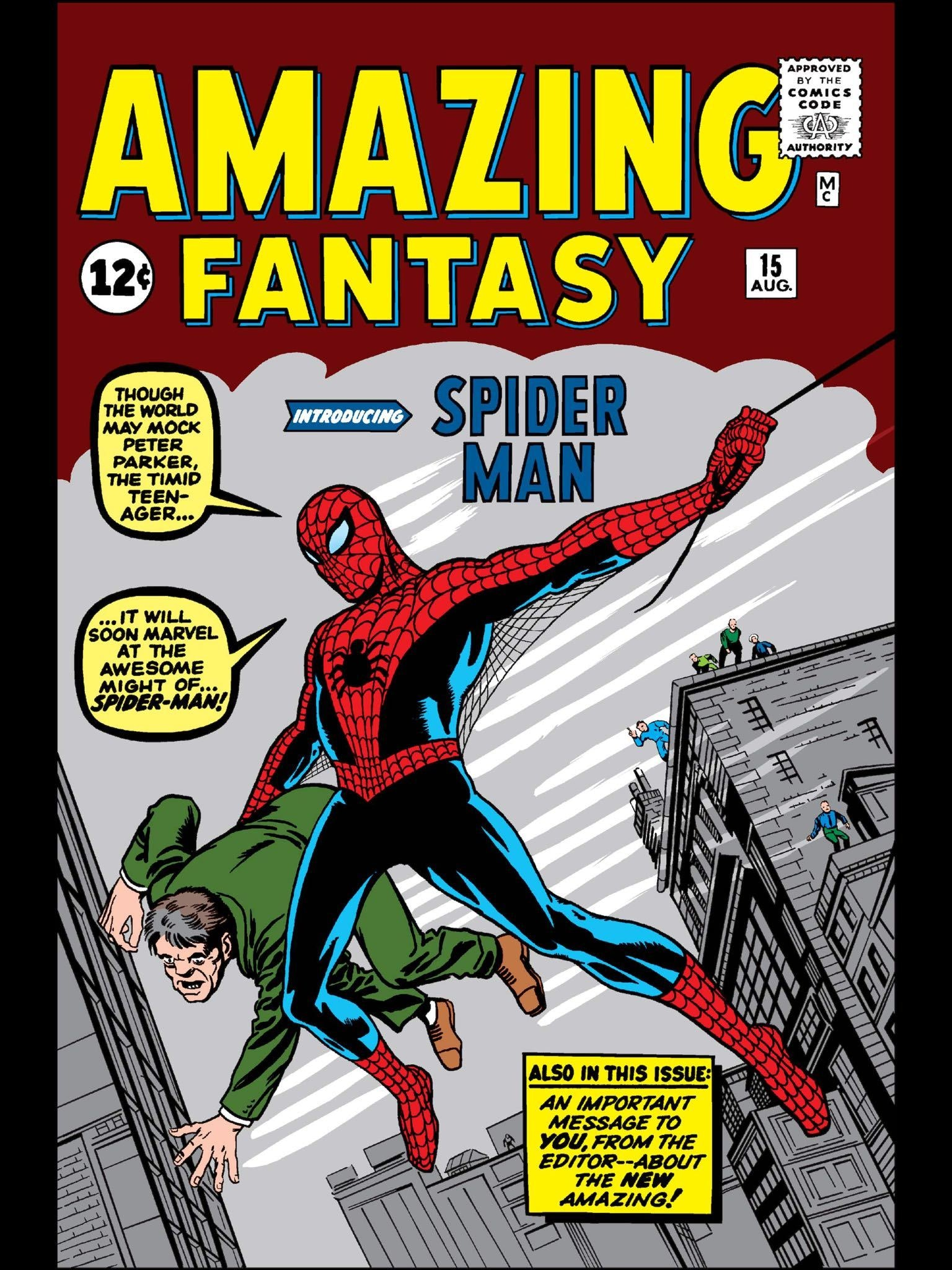 Spider-Man Comic Cover