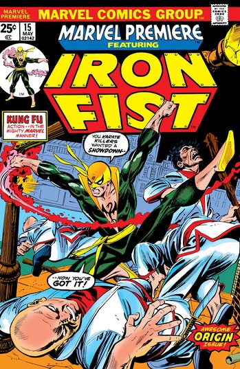 Iron Fist Marvel Costume