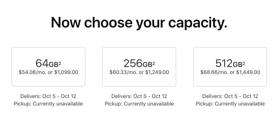 iphone xs max cost