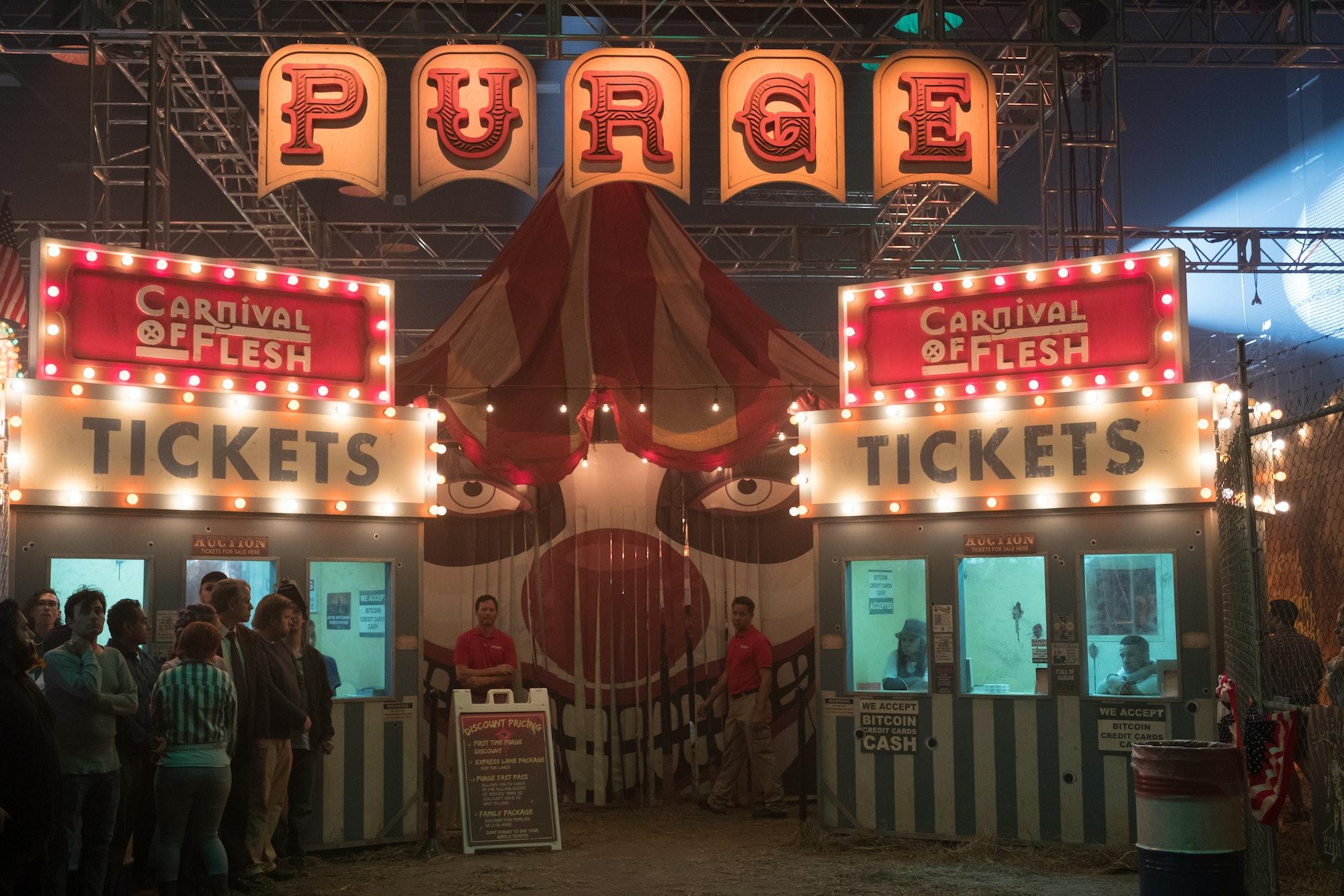 'The Purge' Carnival of Flesh