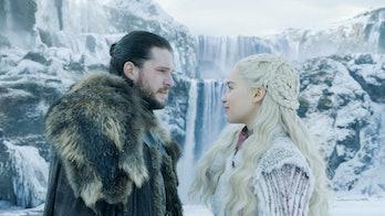 Game of Thrones Jon Dany Season 8 premiere