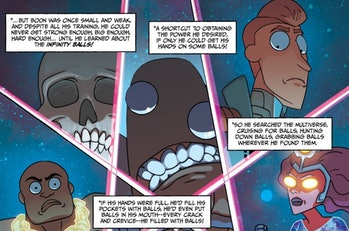 'Rick and Morty' Vindicators comic turns a beloved character into a villain.
