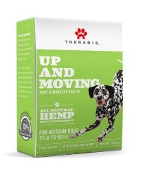 Up and Moving Medium Dog