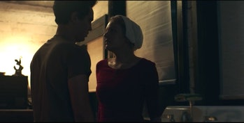 Elizabeth Moss and Max Minghella in 'The Handmaid's Tale'