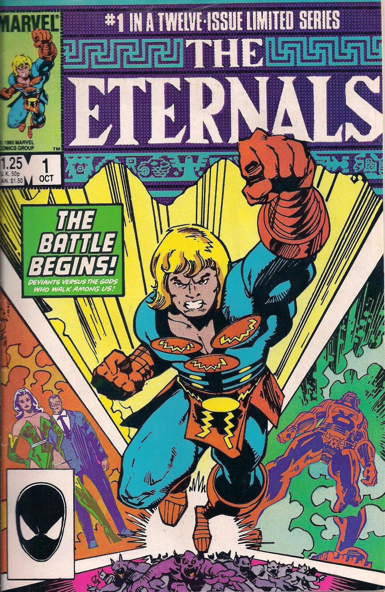 Walt Simonson Eternals Marvel