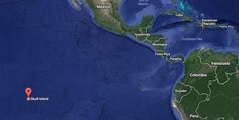 Kong Skull Island Google Maps Satellite