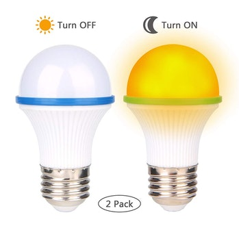Amber light bulbs get the blue light out of your home
