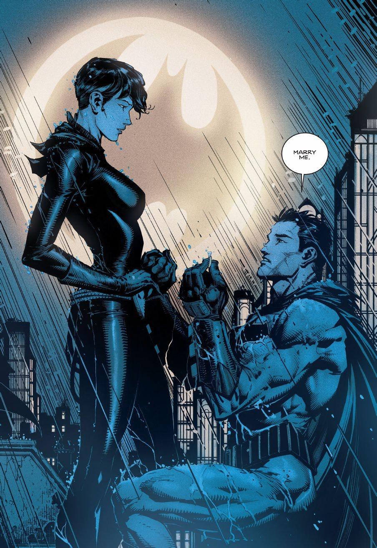 Tom King Batman Catwoman Marriage