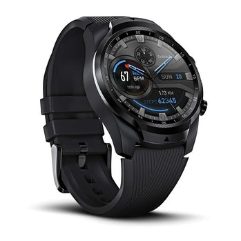 Ticwatch Pro 4G/LTE, Dual Display Smartwatch, Swim-Ready, Long Battery Life, Cellular Connectivity for Verizon Phone Plan Users Available from August, Only Available in US