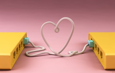 ethernet cable heart