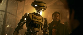 "L3-37 is a delight in 'Solo' while she's still ""alive."""