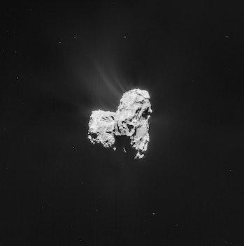 Comet 67P on 26 February - NAVCAM