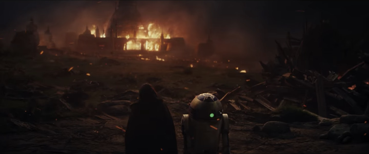 R2-D2 does the most cool stuff in flashbacks in the new movies.