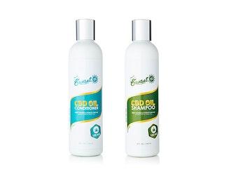 Sunset CBD Organic CBD-Infused Shampoo & Conditioner