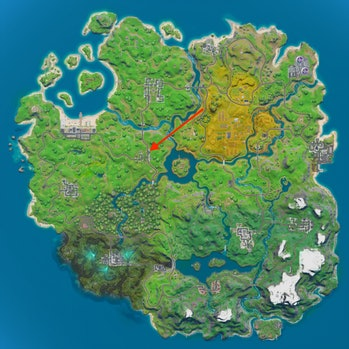 fortnite hideout location