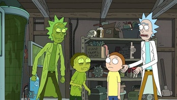 Rick and Morty have to combat monstrous Toxic versions of themselves.