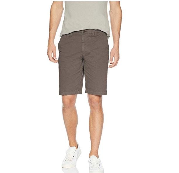 "Amazon Brand - Goodthreads Men's 11"" Inseam Flat-Front Comfort Stretch Chino Short"