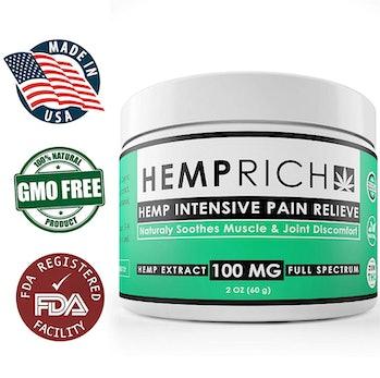 Hemprich Hemp Extract Pain Relief Cream